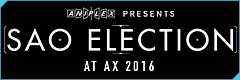 SAO Election 2016 at Anime Expo